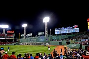 Boston Sox Prints - Game 2 1 Print by Brian Koker