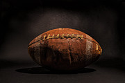 Football Art Posters - Game Ball Poster by Peter Tellone