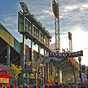 Game Day - Fenway Park Print by Joann Vitali