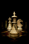 Chess Photos - Game of Chess by Oscar Gutierrez