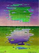 Great Pastels - Game of Drops by R Neville Johnston
