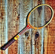 Tennis Racket Framed Prints - Game of Love Framed Print by Benjamin Yeager