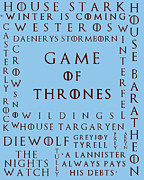 Game Seven Posters - Game Of Thrones 3 Poster by Nomad Art And  Design