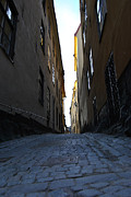 Frederico Borges Photo Framed Prints - Gamla Stan street Framed Print by Frederico Borges