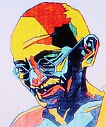 Leaders Mixed Media Framed Prints - GANDI   Pop Art Framed Print by Gunter  Hortz