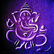 Ganesha Paintings - Ganesha Ganpathi by Piety Dsilva