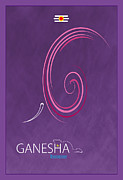 Religious Digital Art Prints - Ganesha The Remover Print by Tim Gainey