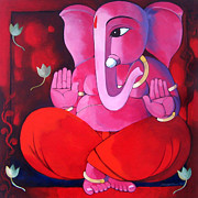 Moria Originals - Ganesha V by Sekhar  Roy