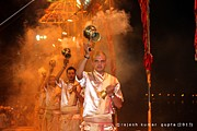 Ganga Photos - Ganga Aarti by Rajesh Kumar Gupta