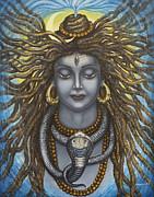 Gangadhara Shiva Print by Vrindavan Das