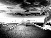 Inverse Prints - Gangplank of Perfection Infrared Extreme Print by Heather Kirk