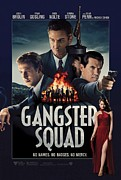 Motion Picture Poster Framed Prints - Gangster Squad Framed Print by Movie Poster Prints