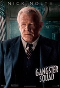 Movie Poster Prints Prints - Gangster Squad Nolte Print by Movie Poster Prints