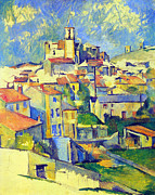 John Peter Metal Prints - Gardanne by Cezanne Metal Print by John Peter