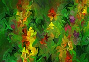 Botanical Fantasy Series - Garden 121012 by David Lane