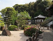 Pebble Photo Originals - Garden at Temple by Yumi Johnson