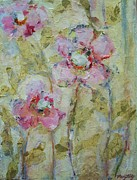 Impressionist Mixed Media - Garden Bliss by Mary Wolf
