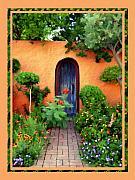 Garden Delights Mesilla Print by Kurt Van Wagner