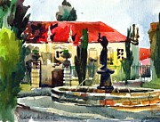 Anna Lobovikov-Katz - Garden Do Torel Fountain...