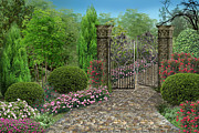 Roxana Paul - Garden gate
