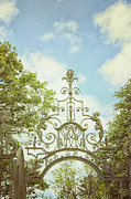 Arcitecture Framed Prints - Garden Gates Framed Print by Margie Hurwich