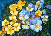 Garden Harmony Print by Zaira Dzhaubaeva