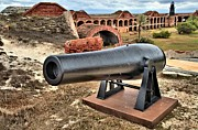 Fort Jefferson Metal Prints - Garden Key Defense Metal Print by Adam Jewell