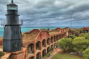 Dry Tortugas Photo Prints - Garden Key Light Print by Adam Jewell