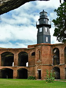 Dry Tortugas Prints - Garden Key Light Print by David Davies