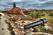 Dry Tortugas Photo Prints - Garden Key Light Defense Print by Adam Jewell