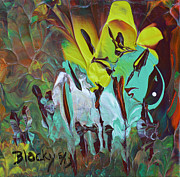 Décor Originals - Garden Of Eden by Donna Blackhall