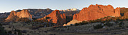 Panorama Mountain Images Prints - Garden of the Gods Print by Aaron Spong