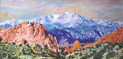 Garden Scene Originals - Garden of the Gods by Emily Petitto