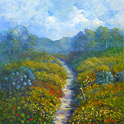 Julia Blackler - Garden Path