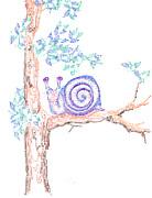 Regina Valluzzi - garden snail