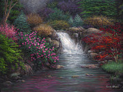Japanese Originals - Garden Spring by Chuck Pinson
