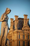 European Artwork Posters - Garden Statue - Paris Poster by Brian Jannsen