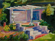 Thomas Bertram POOLE - Garden with Steps...