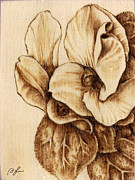 Craft Pyrography Prints - Gardenmania #1 Print by Perry Chow