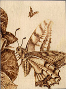 Craft Pyrography Prints - Gardenmania #2 Print by Perry Chow