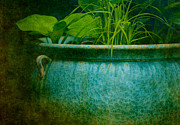 Ceramic Prints - Gardenscape Print by Amy Weiss