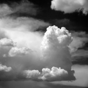 Clouds Photo Metal Prints - Garfield in the skies Metal Print by Christine Till