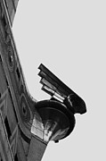 Broadway Digital Art Metal Prints - Gargoyle - Chrysler Building Metal Print by Anahi DeCanio