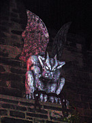 The Haunted House Photo Posters - Gargoyle Poster by Pablo Rosales