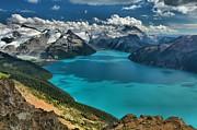 Adam Jewell - Garibaldi Lake Blues Greens And Mountains