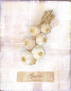Mark Preston Metal Prints - Garlic String. Metal Print by Mark Preston