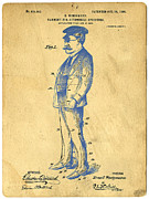 Patent Prints - Garment for Automobile Operators Patent Print by Edward Fielding