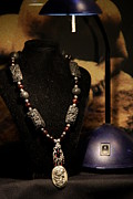 Glamor Jewelry - Garnet and Silver Gothic Beauty by Jay Rickard
