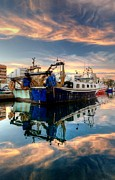 Tony Unwin - Garrucha Harbour Sunset
