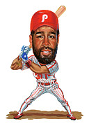 Mlb.com Art - Garry Maddox by Art